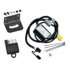 Trailer Wiring and Bracket and Light Tester For 01-02 Toyota Tundra All Styles 4-Flat Harness Plug Play