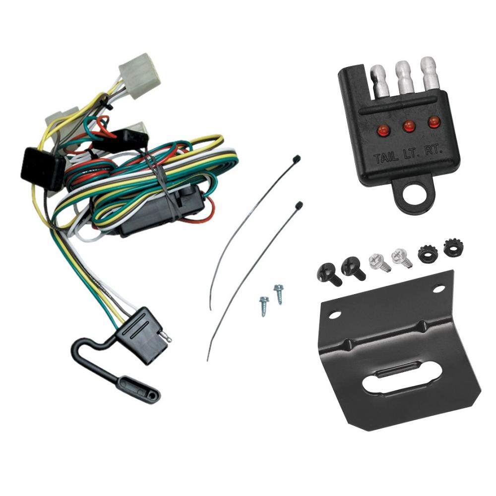 2001 toyota tacoma trailer wiring trailer wiring and bracket and light tester for 95 04 toyota  trailer wiring and bracket and light