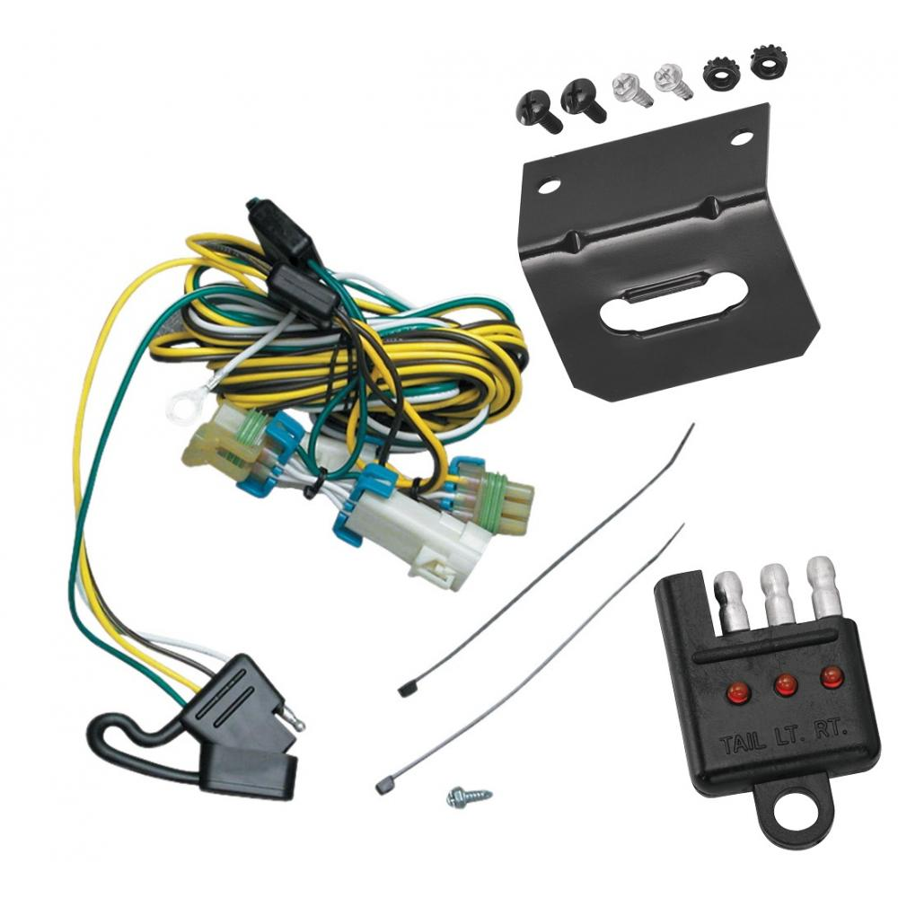Trailer Wiring And Bracket And Light Tester For 02