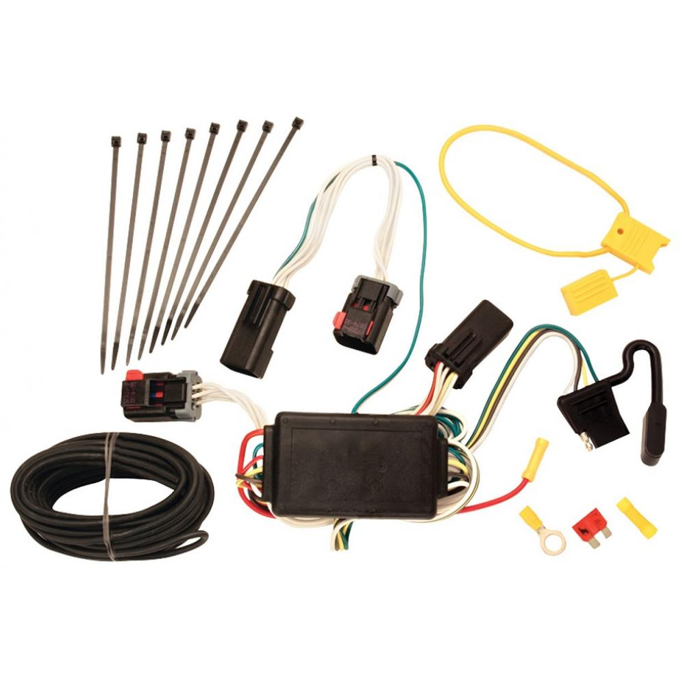 Trailer Wiring Harness Kit For 07-09 Chrysler Aspen 04-09 Dodge Durango All  StylesTrailerJacks.com