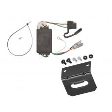 Trailer Wiring and Bracket For 05-06 Chevrolet Equinox 2006 Pontiac Torrent 4-Flat Harness Plug Play