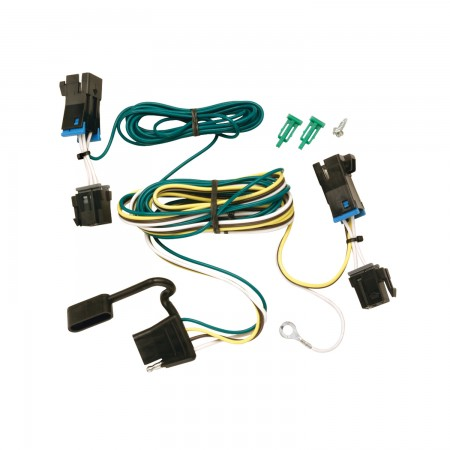 Trailer Wiring Harness Kit For 03-21 Chevy Express 03-18 ... | Chevrolet Express Trailer Wiring |  | Trailer Jack