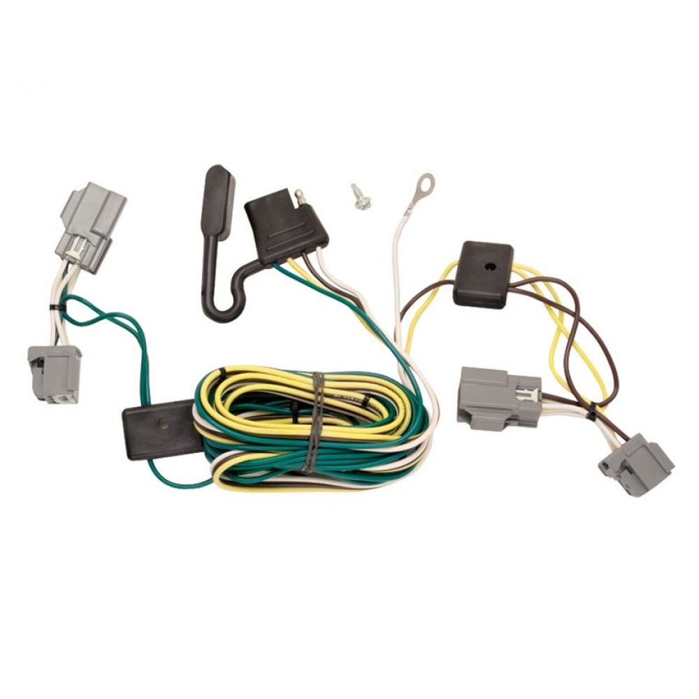 trailer wiring harness kit for 05 07 ford five hundred freestyle all styles ford f150 radio wiring harness diagram 2005 ford five hundred wiring harness