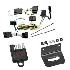 Trailer Wiring and Bracket and Light Tester For 05-08 Chevy Uplander 05-07 Buick Terraza Saturn Relay 05-06 Pontiac Montana 4-Flat Harness Plug Play