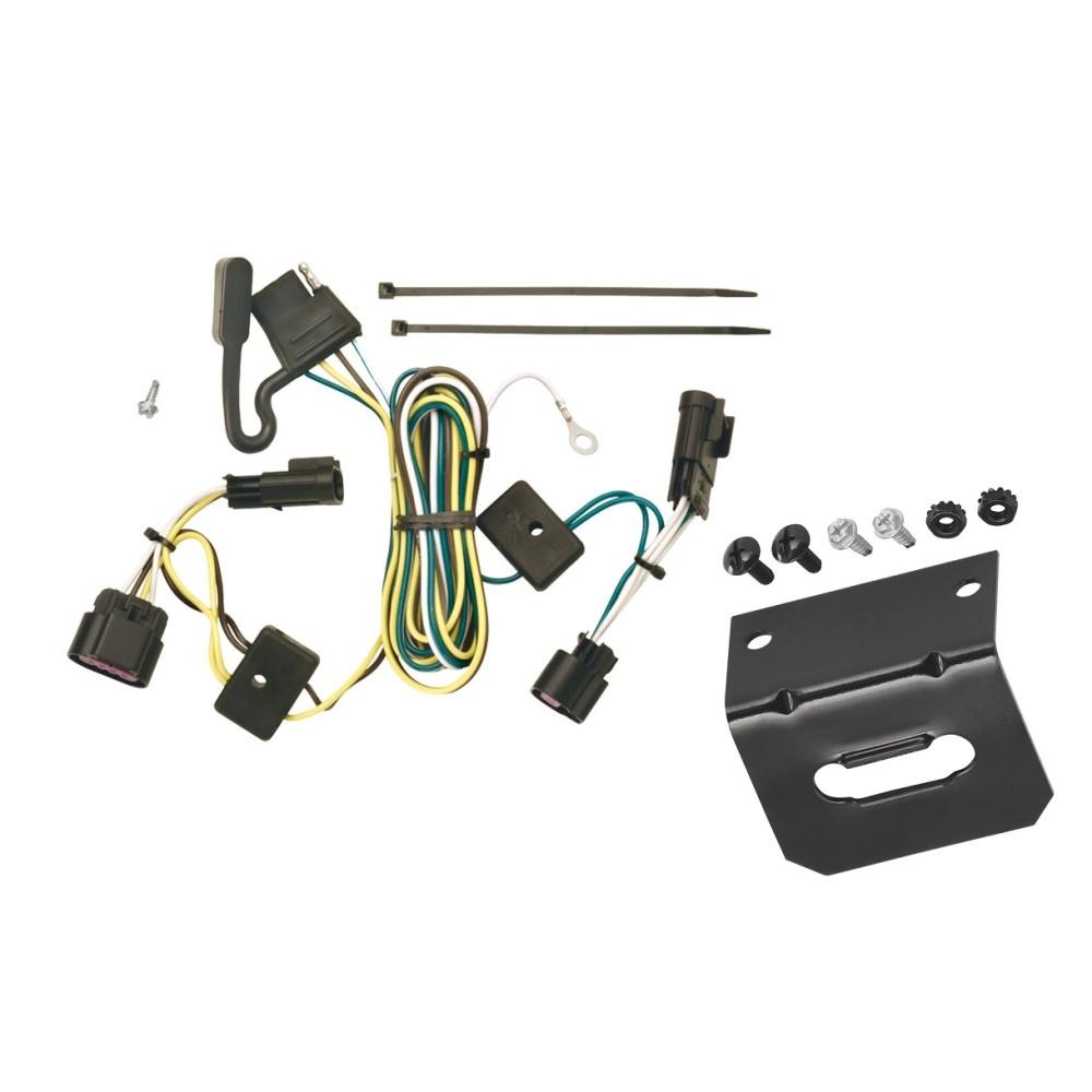 trailer wiring and bracket for 05 10 chevy cobalt 4 door. Black Bedroom Furniture Sets. Home Design Ideas