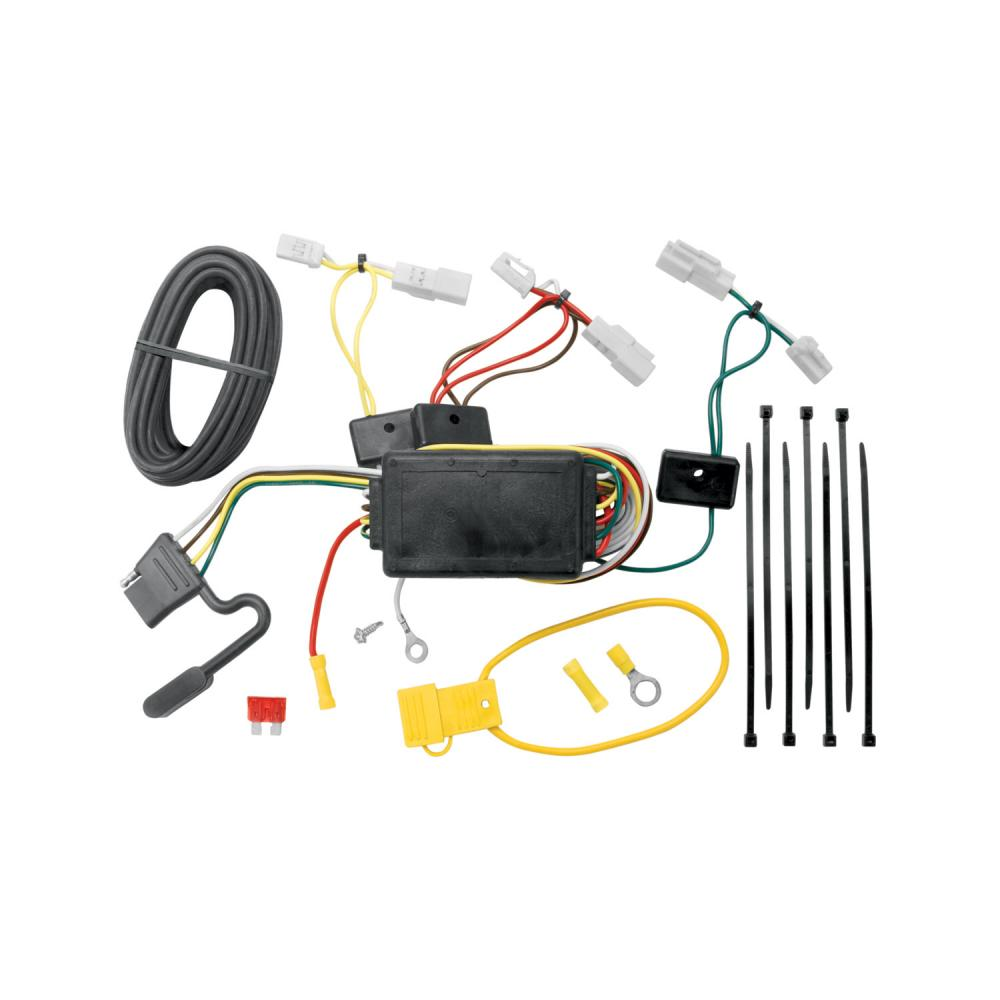 trailer tow hitch for 07 14 toyota fj cruiser w wiring. Black Bedroom Furniture Sets. Home Design Ideas