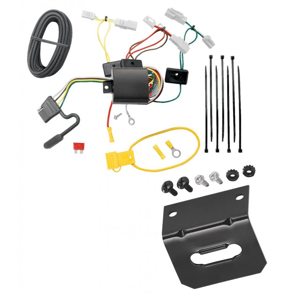Trailer Wiring and cket For 14-19 Toyota Corolla 07-17 Camry 07-14 on