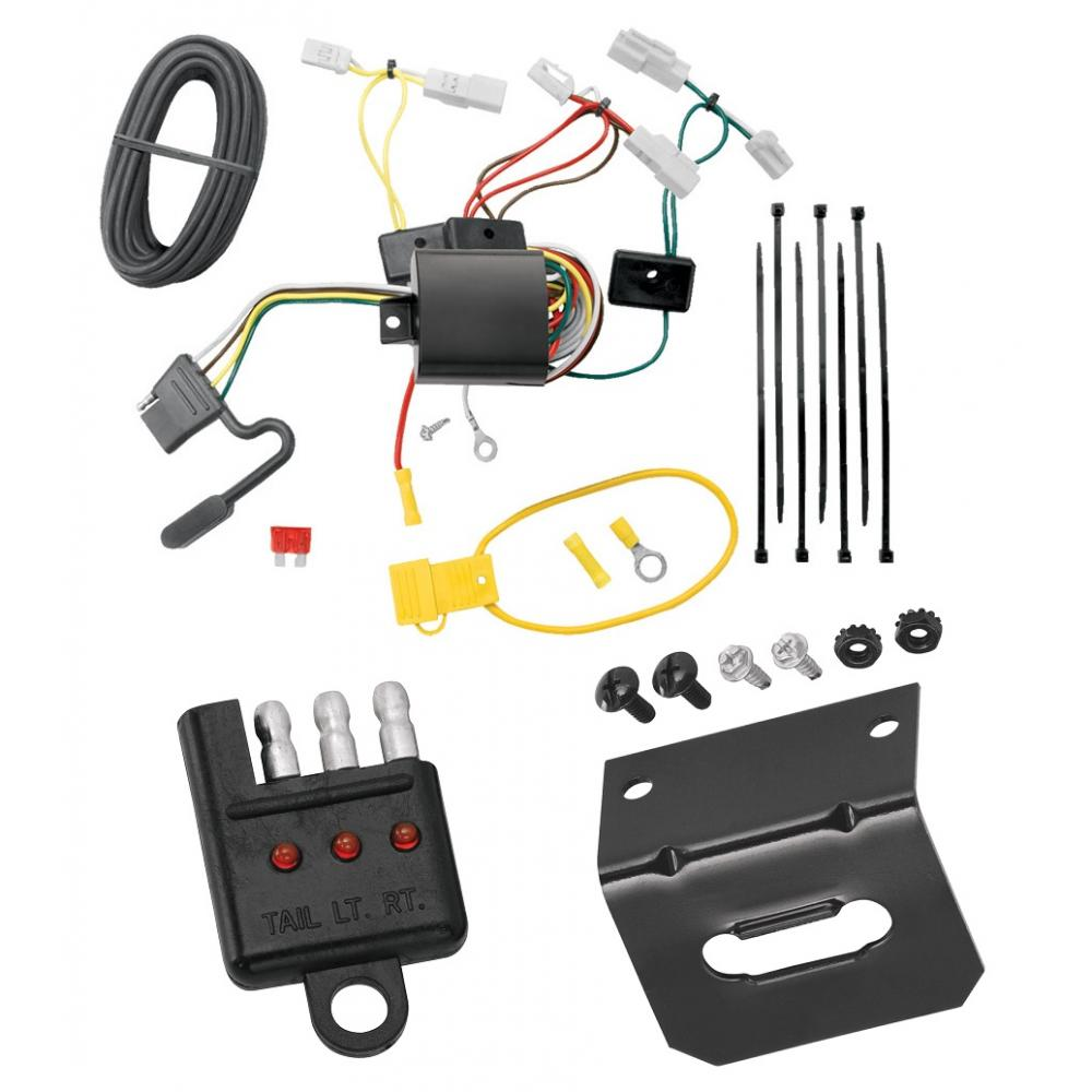 Trailer Wiring and cket and Light Tester For 14-19 Toyota Corolla 07-17 on 3 plug gasket, 3 plug switch, 3 plug pin, 3 plug socket, 3 plug adaptor, 3 plug cord, 3 plug power, 3 plug wiring, 3 plug valve,