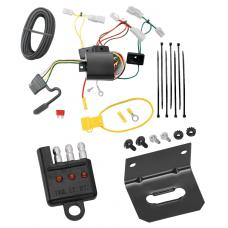 Trailer Wiring and Bracket and Light Tester For 14-19 Toyota Corolla 07-17 Camry 07-14 FJ Cruiser 14-18 Mazda 3 03-08 Mazda 6 07-12 CX-7 4-Flat Harness Plug Play