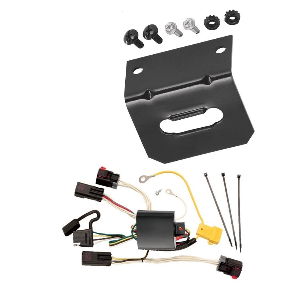 trailer wiring and bracket for 08 10 chrysler 300 05 07. Black Bedroom Furniture Sets. Home Design Ideas