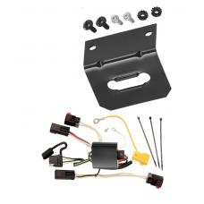 Trailer Wiring and Bracket For 08-10 Chrysler 300 05-07 300 C All Styles 4-Flat Harness Plug Play