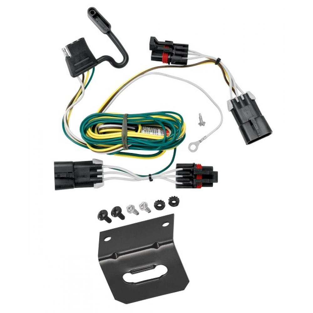 Trailer Wiring and cket For 05-10 Chevy Cobalt 2008 Sport 06-11 HHR on chevy cobalt master cylinder, chevy cobalt dash kit, chevy cobalt speedometer, chevy cobalt serpentine belt, chevy cobalt purge valve, chevy cobalt stereo wiring diagram, chevy cobalt throttle body, chevy cobalt starter, chevy cobalt front end parts, chevy cobalt rear brake assembly, chevy cobalt fuse panel, chevy cobalt radiator, pontiac grand am wiring harness, chevy cobalt o2 sensor, chevy cobalt timing belt, chevy cobalt cylinder head, kia sportage wiring harness, chevy cobalt parts diagram, chevy cobalt harmonic balancer, chevy cobalt ignition switch,