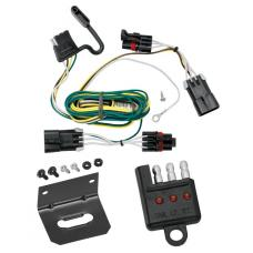 Trailer Wiring and Bracket and Light Tester For 05-10 Chevy Cobalt 2008 Sport 06-11 HHR 08-10 HHR SS 07-09 Pontiac G5 4-Flat Harness Plug Play