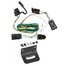 Trailer Wiring and Bracket For 05-10 Chevy Cobalt 2008 Sport 06-11 HHR 08-10 HHR SS 07-09 Pontiac G5 4-Flat Harness Plug Play