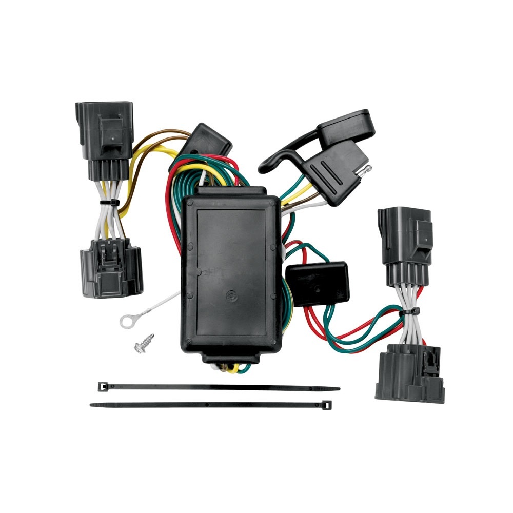 trailer wiring harness kit for 06-10 jeep commander all ...  trailer jack