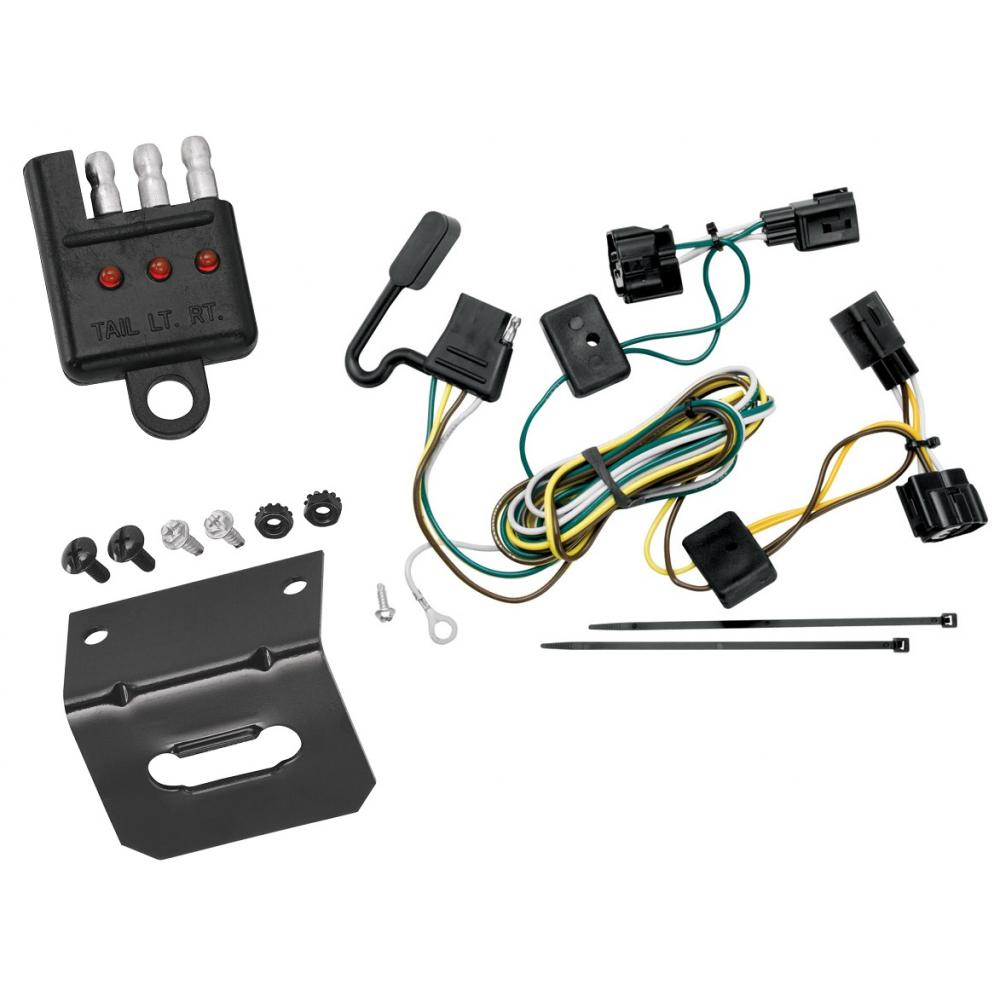 Trailer Wiring and cket and Light Tester For 98-06 Jeep Wrangler All on jeep yj wiring, home wiring, jeep mb wiring, jeep cj7 wiring, jeep xj wiring,