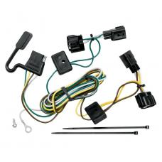 Trailer Wiring Harness Kit For 98-06 Jeep Wrangler All Styles ( TJ Canada Only )