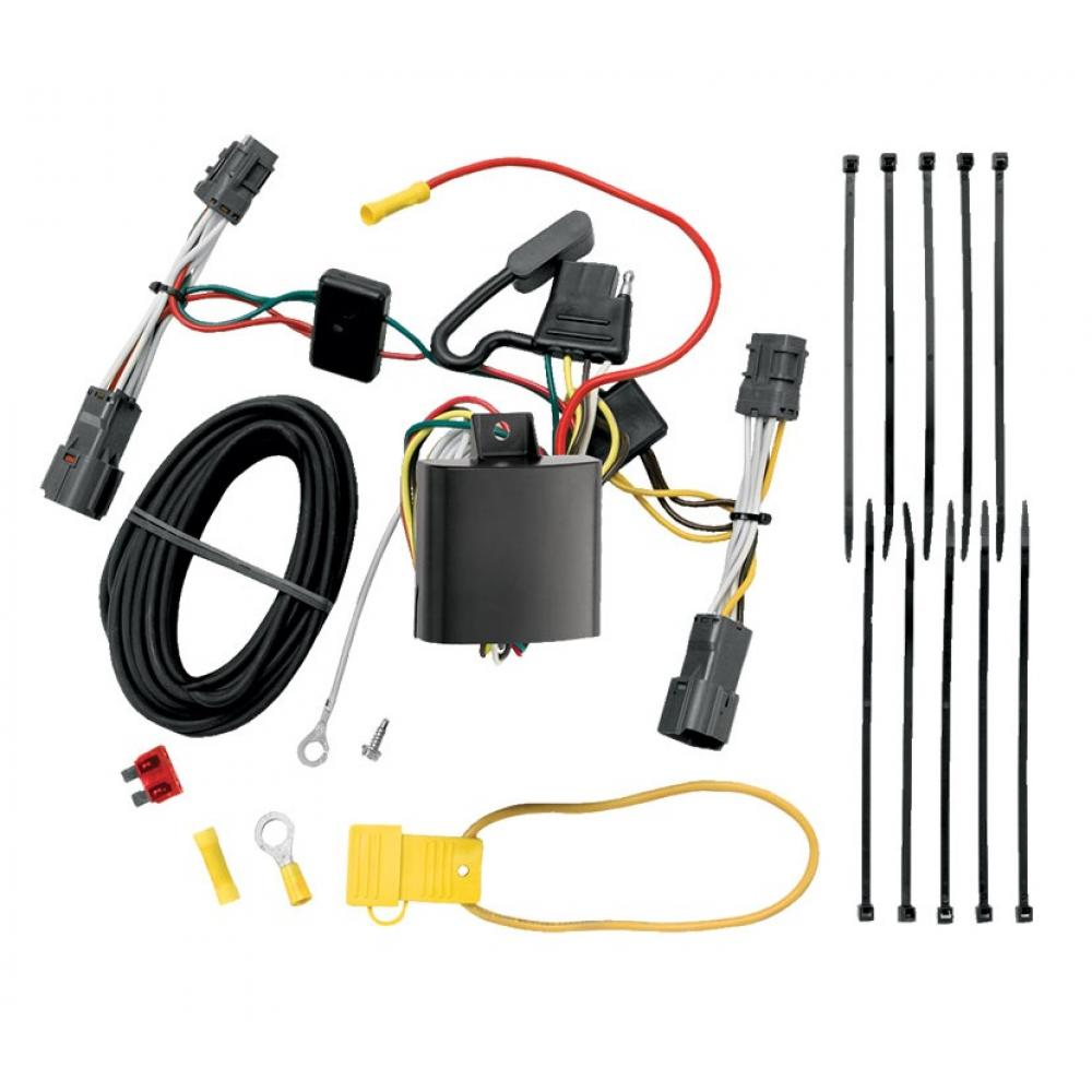 trailer wiring harness kit for 07 09 hyundai entourage 06. Black Bedroom Furniture Sets. Home Design Ideas