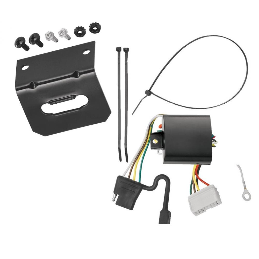 Trailer Wiring And Bracket For 07-13 Acura MDX All Styles