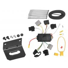 Trailer Wiring and Bracket For 05-07 Ford Escape 05-06 Mazda Tribute All Styles 4-Flat Harness Plug Play