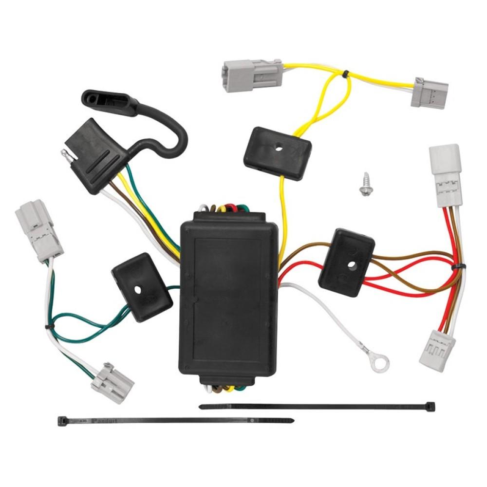 trailer wiring harness kit for 06 15 honda civic 2 dr coupe except si  honda civic trailer wiring harness #12