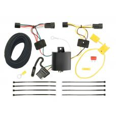 Trailer Wiring Harness Kit For 12-15 Chevrolet Captiva Sport 08-09 Saturn Vue