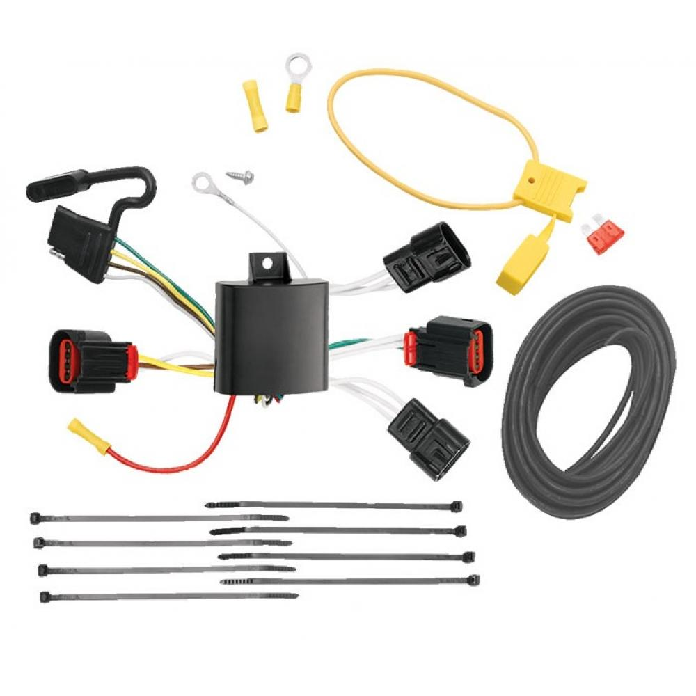 Trailer Wiring Harness Kit For 08-10 Dodge Avenger All Styles on