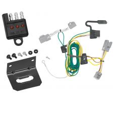 Trailer Wiring and Bracket and Light Tester For 08-09 Ford Taurus X All Styles 4-Flat Harness Plug Play