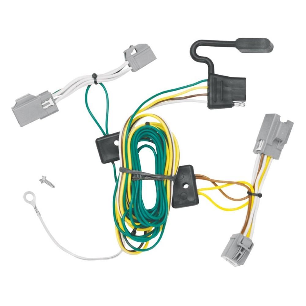 Trailer Wiring Harness Kit For 08-09 Ford Taurus X All StylesTrailerJacks.com