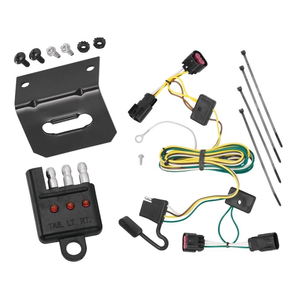 trailer wiring and bracket and light tester for 08 12. Black Bedroom Furniture Sets. Home Design Ideas
