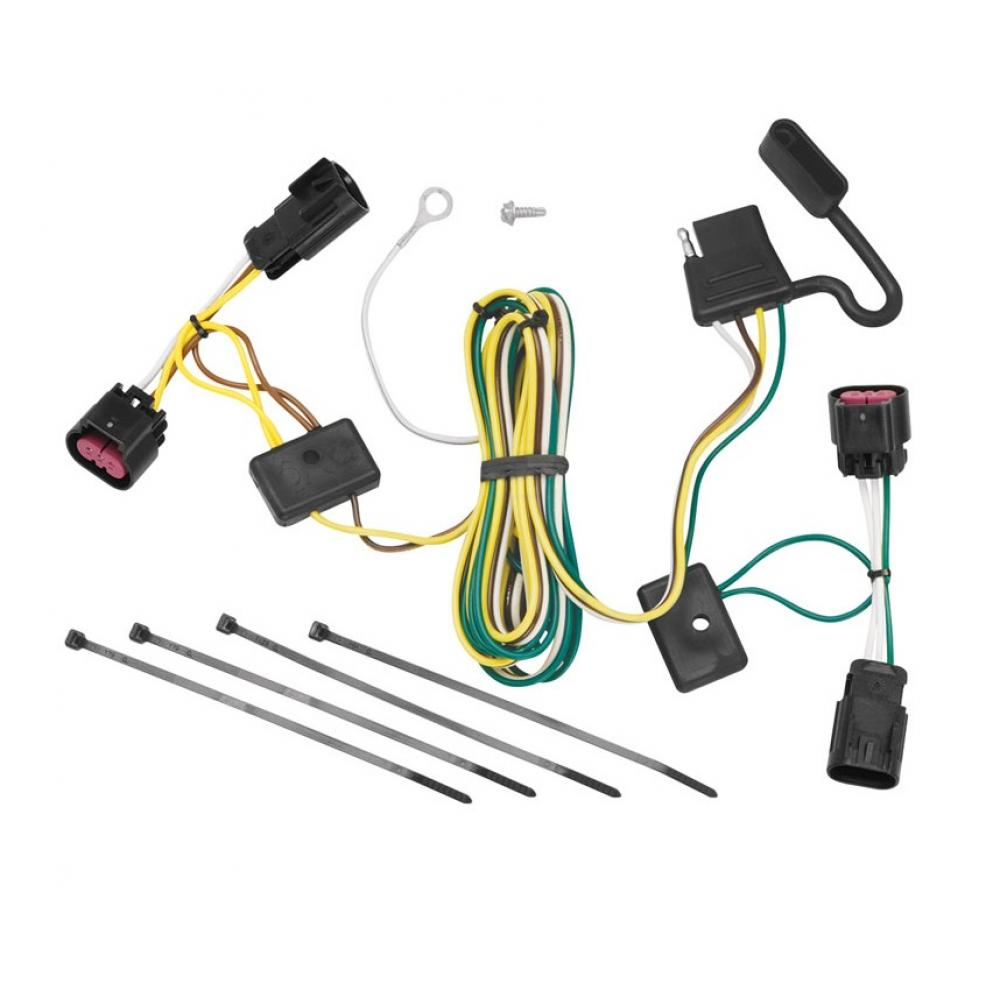 [WQZT_9871]  Trailer Wiring Harness Kit For 08-12 Buick Enclave Chevy Malibu Except LTZ  09-12 Traverse | Buick Enclave Wiring Harness |  | TrailerJacks.com