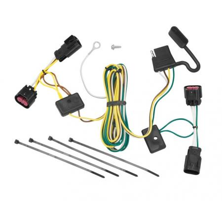 Trailer Wiring Harness Kit For 08-12 Buick Enclave Chevy Malibu Except LTZ 09-12 Traverse