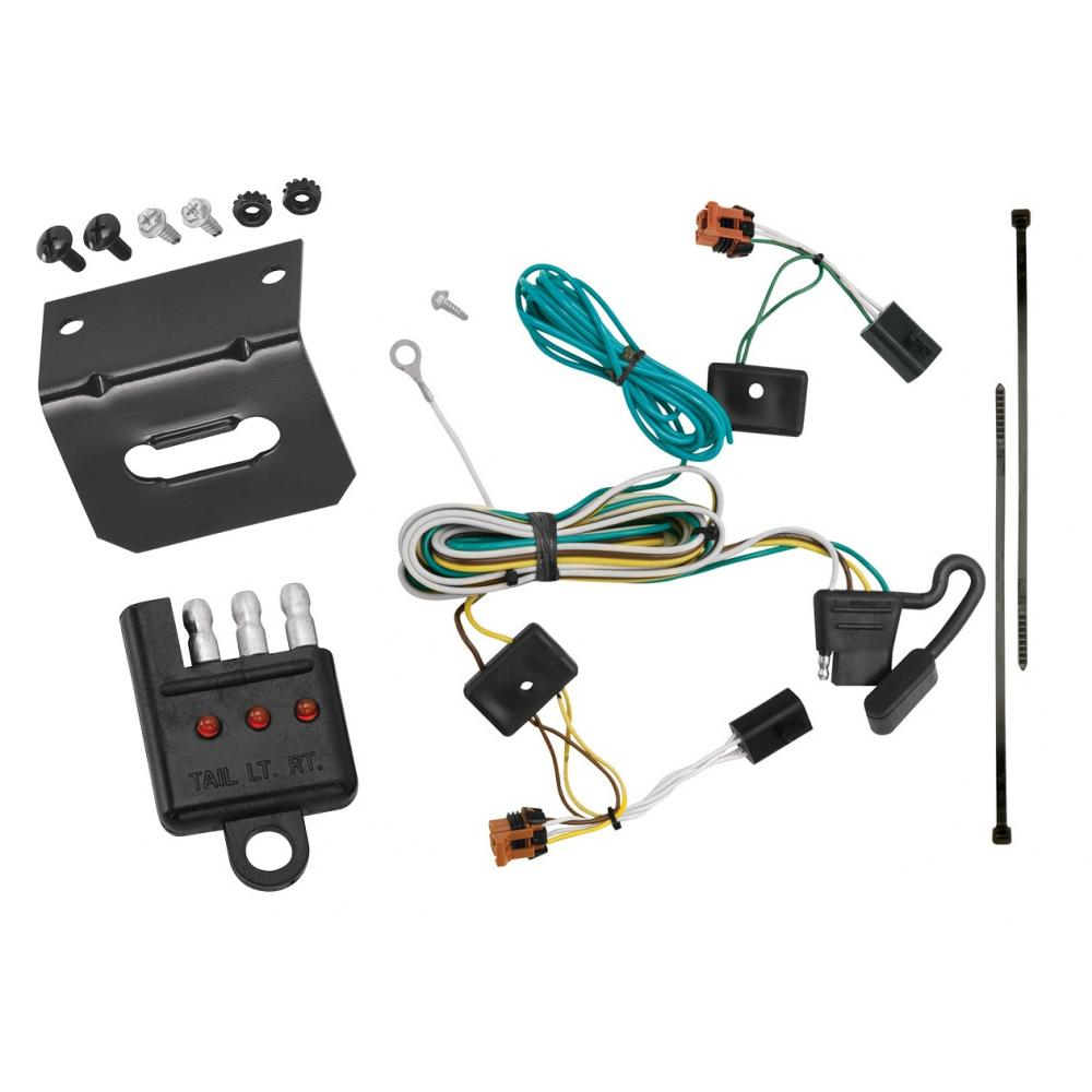 trailer wiring and bracket and light tester for 07 12 gmc. Black Bedroom Furniture Sets. Home Design Ideas