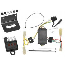 Trailer Wiring and Bracket and Light Tester For 06-12 Suzuki Grand Vitara 07-11 SX4 Crossover 4-Flat Harness Plug Play