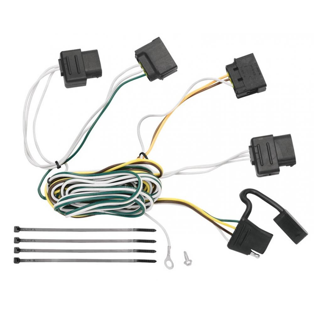 ford wiring harnesses trailer wiring harness kit for 08 11 ford focus all styles ford wiring harness repair trailer wiring harness kit for 08 11