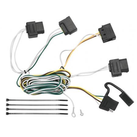 Trailer Wiring Harness Kit For 08-11 Ford Focus All StylesTrailerJacks.com