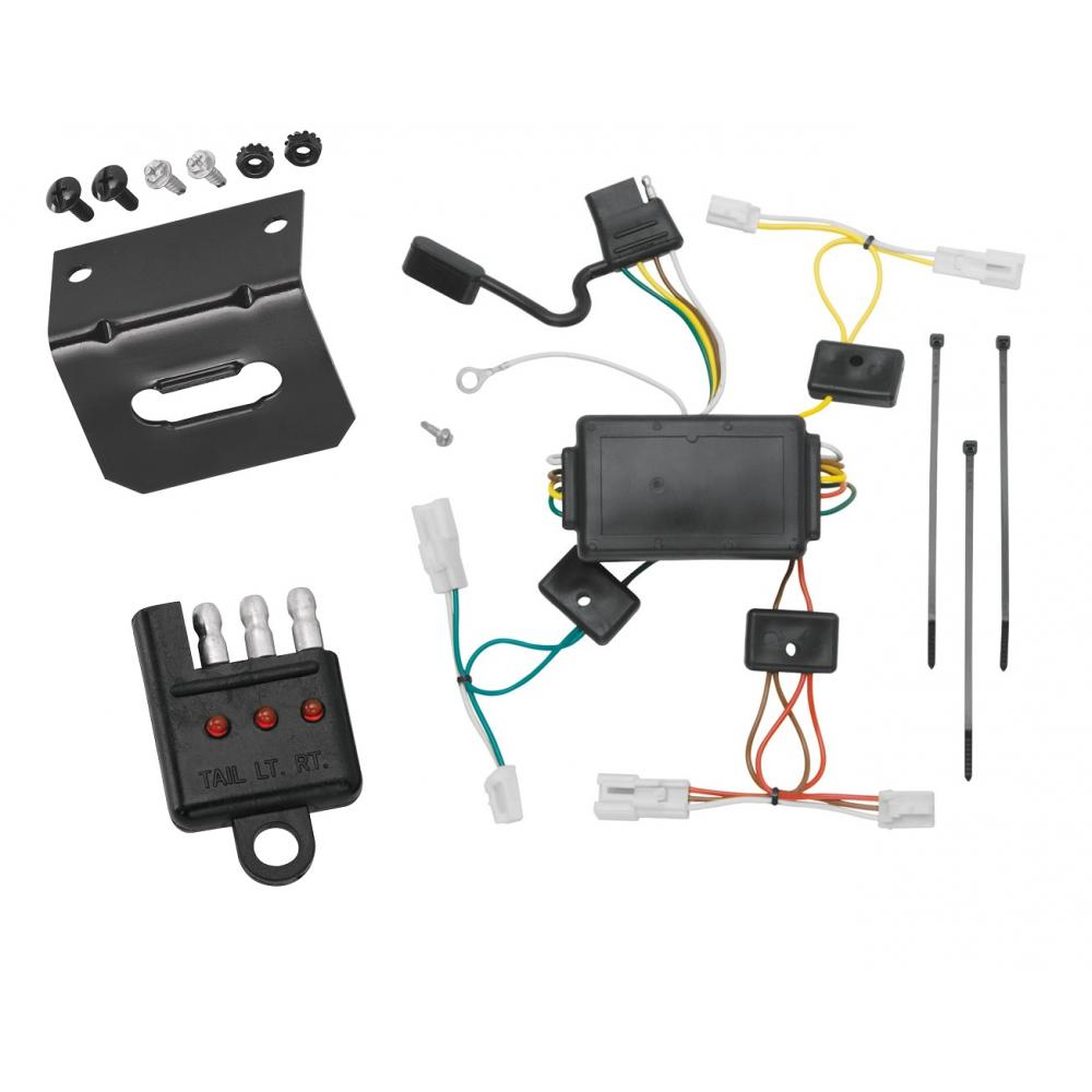 trailer wiring and bracket and light tester for 03-08 ... pontiac vibe trailer wiring diagram