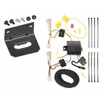 Trailer Wiring and Bracket For 09-13 Toyota Corolla All Styles 4-Flat Harness Plug Play
