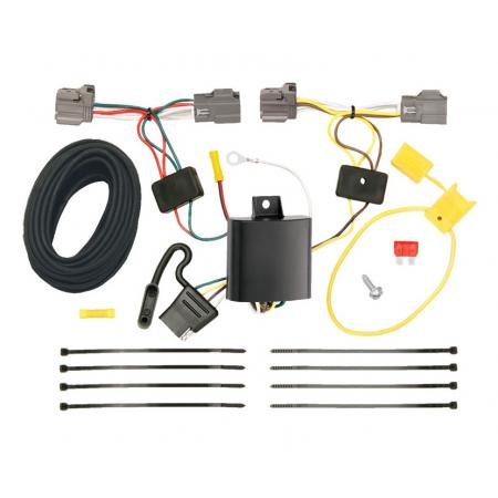 Trailer Wiring Harness Kit For 08-10 Volvo V70 Wagon without Optional Power Operated Tailgate