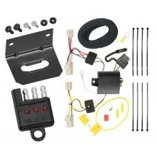 Trailer Wiring and Bracket and Light Tester For 08-11 Subaru Impreza 4 Dr. Sedan 4-Flat Harness Plug Play