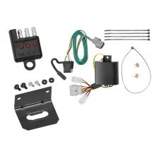 Trailer Wiring and Bracket and Light Tester For 07-11 Honda Element All Styles 4-Flat Harness Plug Play