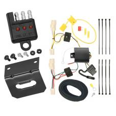 Trailer Wiring and Bracket and Light Tester For 08-10 Scion xB All Styles 4-Flat Harness Plug Play