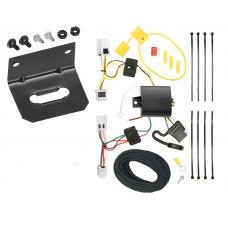 Trailer Wiring and Bracket For 07-15 Nissan Altima 04-14 Maxima 07-12 Sentra 4-Flat Harness Plug Play