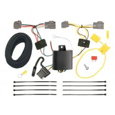 Trailer Wiring Harness Kit For 11-13 Ford Fiesta 5 Dr. Hatchback 09-12 Lincoln MKS