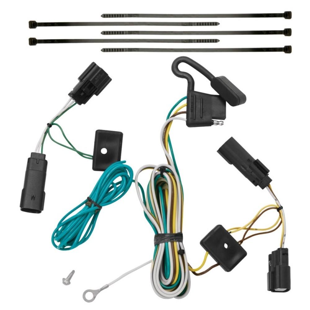 Trailer Wiring Harness Kit For 09-20 Ford Flex All StylesTrailerJacks.com
