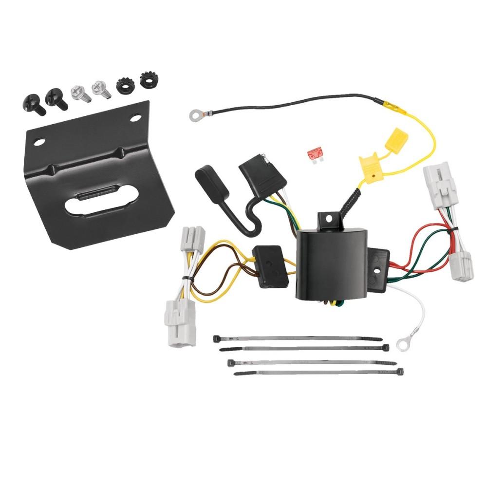 wiring harness hyundai genesis trailer wiring and bracket kit for 09 11 hyundai genesis 4 dr  trailer wiring and bracket kit for 09