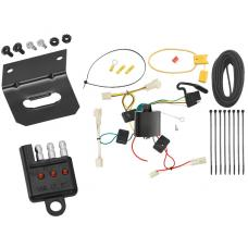 Trailer Wiring and Bracket and Light Tester For 07-12 Lexus RX350 04-06 RX330 All Styles 4-Flat Harness Plug Play