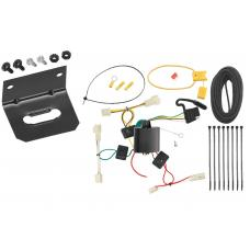 Trailer Wiring and Bracket For 07-12 Lexus RX350 04-06 RX330 All Styles 4-Flat Harness Plug Play