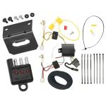 Trailer Wiring and Bracket and Light Tester For 14-19 Mitsubishi Outlander except Sport 11-12 Toyota Avalon 10-11 Camry 07-11 Camry Hybrid 09-16 Venza 4-Flat Harness Plug Play
