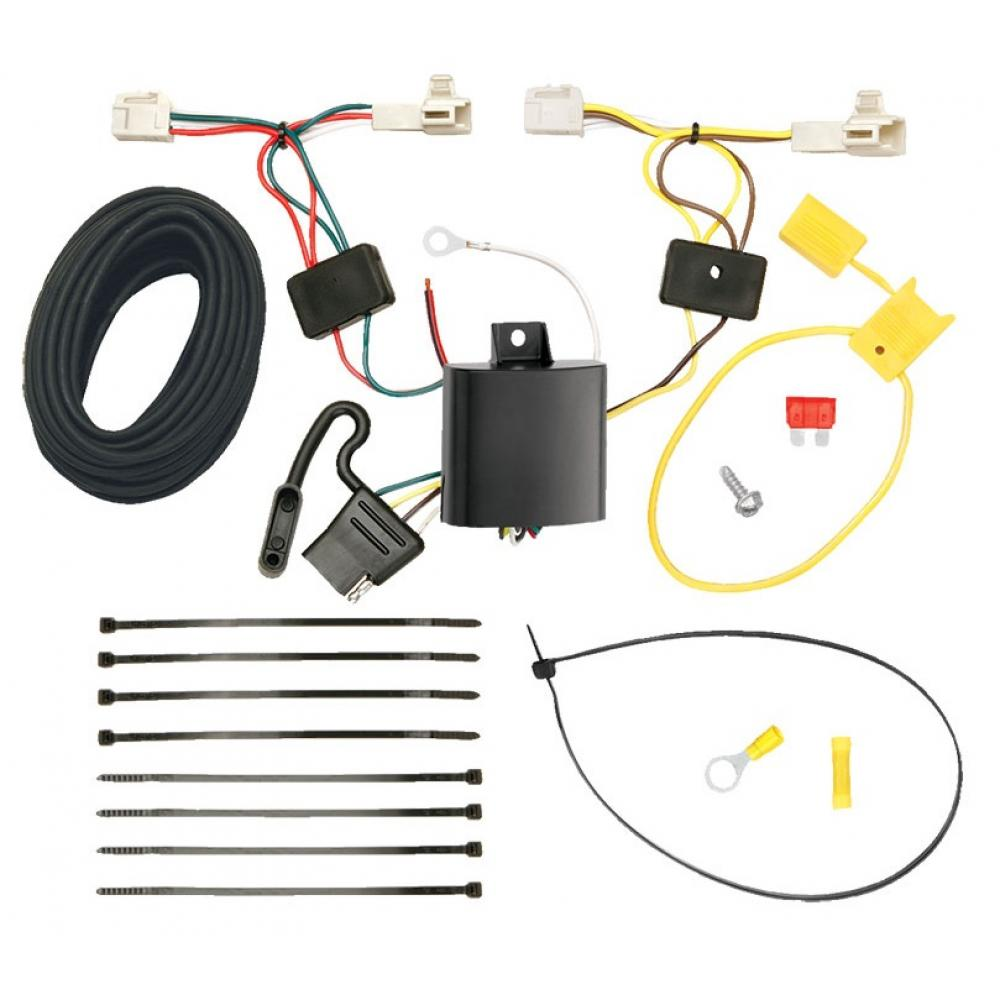 trailer wiring harness kit for 14-19 mitsubishi outlander except sport  11-12 toyota avalon